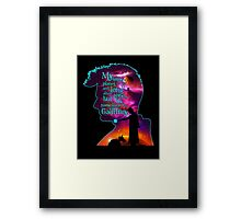 My Home Planet - Colour Framed Print