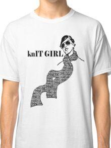 knIT GIRL Classic T-Shirt