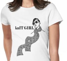 knIT GIRL Womens Fitted T-Shirt
