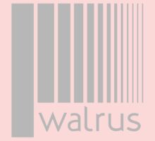 Walrus Grey Doppler Baby Tee