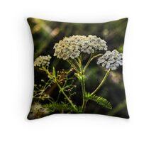 Nature Bokeh Throw Pillow