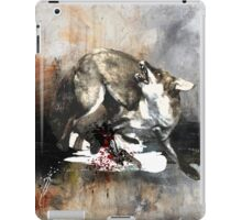 Hunting foxes iPad Case/Skin