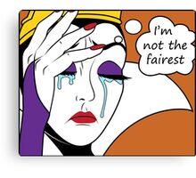 Villain World Problems - Not Fair Canvas Print