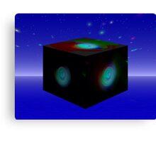 The Fractal Cube Galaxy Canvas Print