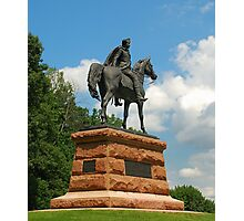 Statue of General Wayne Photographic Print