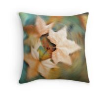Autumn spin Throw Pillow