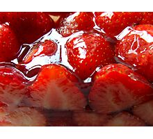 Red 4 Strawberry Photographic Print