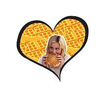 I'll Take The Waffles 2 Photographic Print