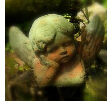 Angel In The Garden ~ Part One Photographic Print