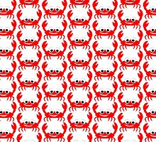 Red Crab Design by biglnet