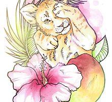 lion cub by Samantha Royle