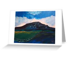 Penyghent, Horton-in-Ribblesdale, Yorkshire Dales Greeting Card