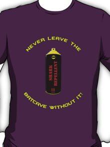 Shark Repellent (Yellow writing) - 60's Batman  T-Shirt