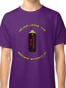Shark Repellent (Yellow writing) - 60's Batman  Classic T-Shirt