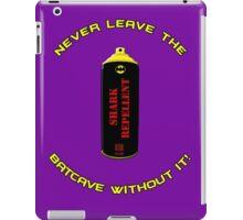 Shark Repellent (Yellow writing) - 60's Batman  iPad Case/Skin