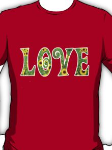Sunflower Hippy Love T-Shirt