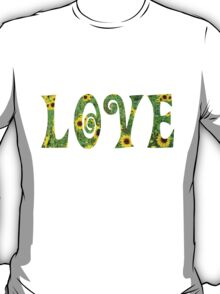 Sunflower Hippy Love T-Shirt