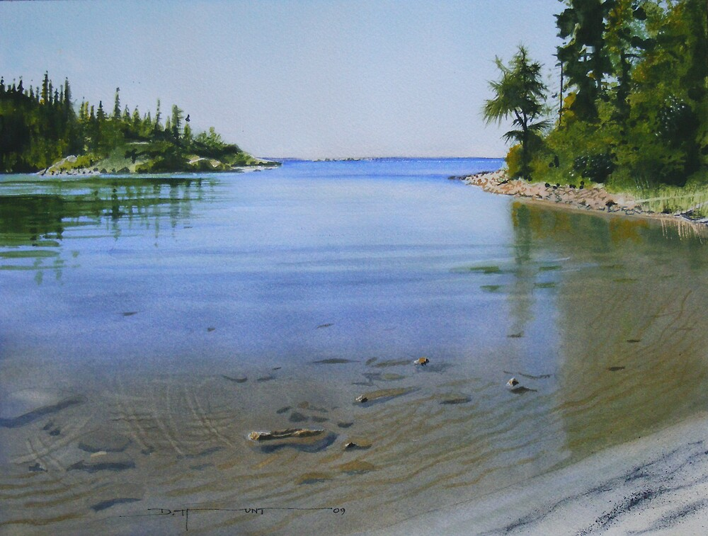 Lyda Bay Revisited by Douglas Hunt