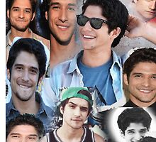 Tyler Posey collage by Nick Torres
