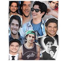 Tyler Posey collage Poster
