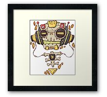 Robo Music Framed Print