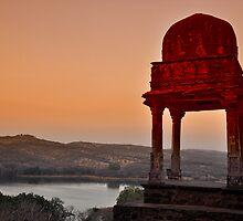 Ranthambhore Watchtower. by Brendan Buckley