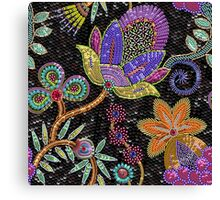 Sequins seamless pattern. Canvas Print