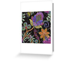 Sequins seamless pattern. Greeting Card