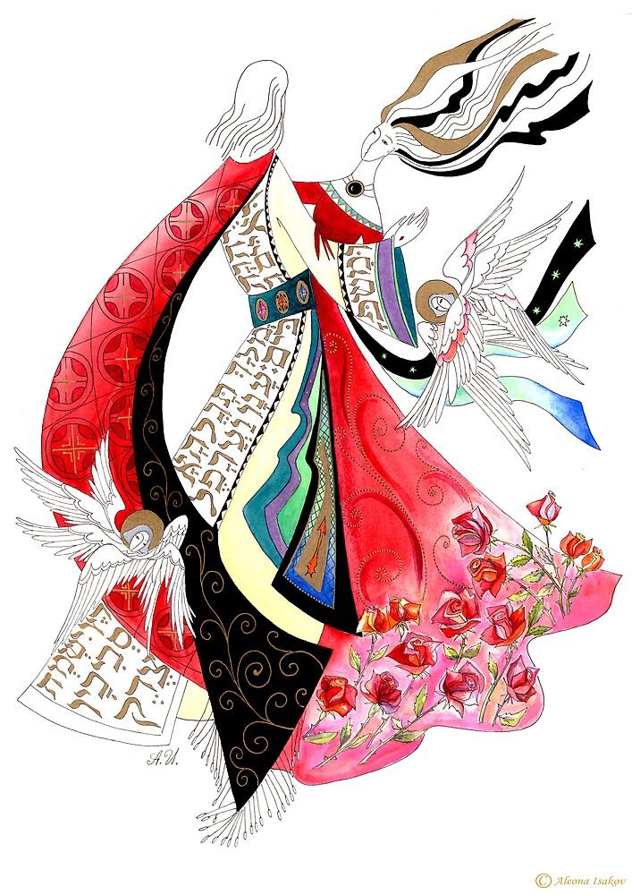 Dance of Love. by Aleonart