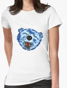 Big Blue - Altered Beast Womens Fitted T-Shirt