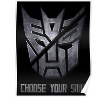 Choose your side Poster