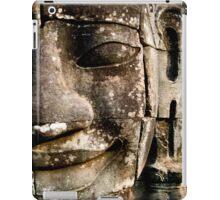 'FACE AT THE BAYON'  iPad Case/Skin