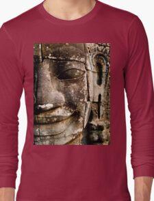 'FACE AT THE BAYON'  Long Sleeve T-Shirt