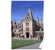 Entrance to the Main House at the Biltmors Estate Poster