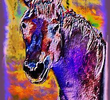 Horse of Many Colors  by PJDesigns