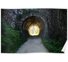 Tunnel in Val Rosandra Poster