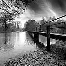 Long bridge, Morton by Gary Heald LRPS