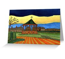 193 - THE BANDSTAND - DAVE EDWARDS - GOUACHE, INK, FINELINERS AND COLOURED PENCILS - 2007 Greeting Card