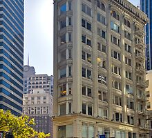 The Flat Iron Building San Francisco by photosbyflood