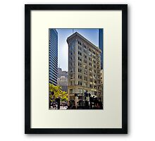 The Flat Iron Building San Francisco Framed Print