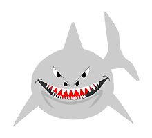 Smiling Shark Design by biglnet