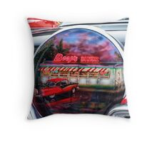 boops diner Throw Pillow