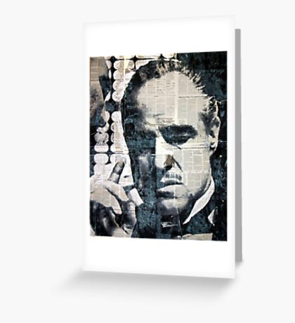 The Offer He Couldn't Refuse... Greeting Card