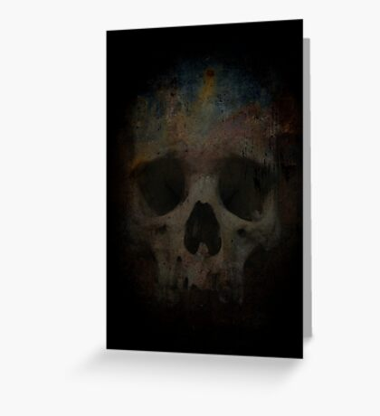 Skull 002 Greeting Card