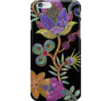 Sequins vertical seamless pattern. iPhone Case/Skin