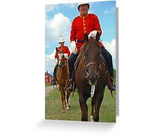 Mounties Always Get Their Man Greeting Card