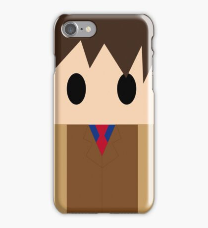 Doctor Who: 10th Doctor!  iPhone Case/Skin