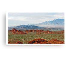 The Plains Canvas Print