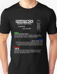 Filmstock Music Festival (white text) T-Shirt