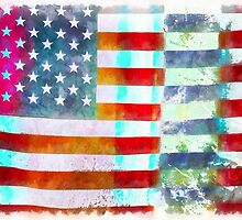 American Flag by Edward Fielding